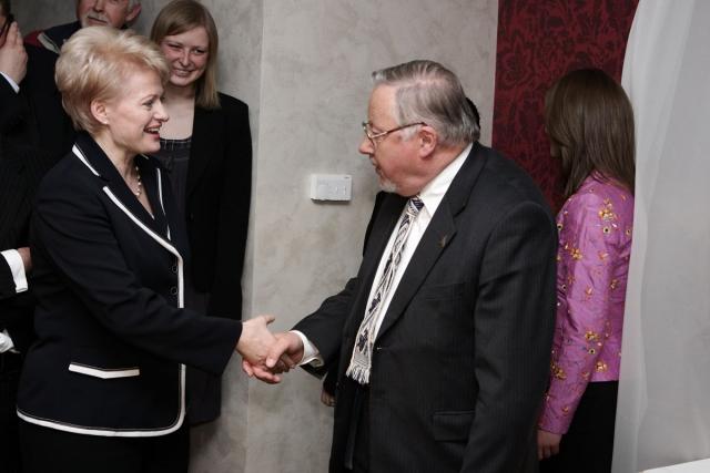 Grybauskaitė ir landsbergis - du išgamos