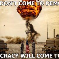 Демократия — инструмент тьмы?  (К выборам президента на Украине)