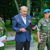 2 августа 2017 года в Литве отметили день ВДВ